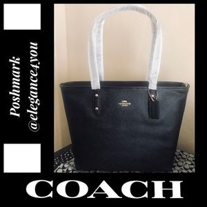 ✨COACH✨Authentic Crossgrain Leather Tote NEW!
